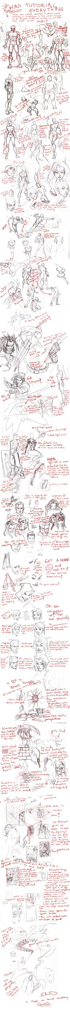 Everything Mini Tutorial by *CarlosGomezArtist on deviantART