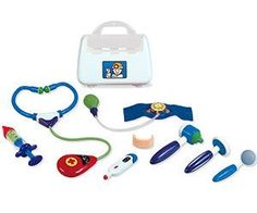 """Why she'll love it:Now that kids understand more, they also fear more. Not only is a doctor's kit a wonderful tool for make-believe, it can help them feel more in-the-know and in control at the pediatrician's office.  Why experts love it:""""Playing doctor can help relieve anxiety about a doctor's visit,"""" says Briggs. """"Kids also learn about giving care to others by attending to their baby dolls.""""  Our pick:Go ahead -- let her take your temperature or listen to ..."""