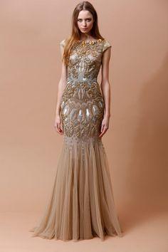Badgley Mischka | Pre-Fall 2014 Collection | Style.com
