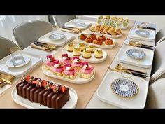 Beş Çayı İkramları |Çay Sofrası 6 Yeni Tarif |Gün İkramlıkları - YouTube Almond Pastry, Middle Eastern Desserts, Tasty, Yummy Food, Beignets, Mini Cakes, Finger Foods, Tea Time, Buffet