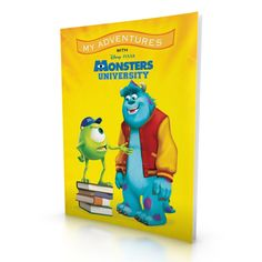 Disney/Pixar Monsters University Personalised My Adventures Book from personalised-by-you.com - A dream leads to a scary adventure for your child and friends at Monsters' University.