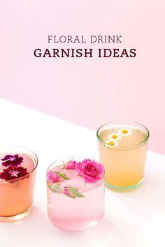 Pin Ups: flower garnishes | knittedbliss.com