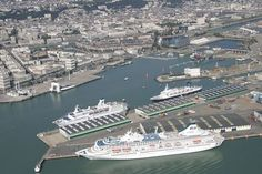 Port of LE HAVRE, France
