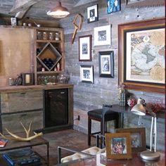 Best Rustic Man Cave Bar Garage Man Town Pinterest