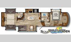 montana 3950br mid bunk floor plan office bunk 41. Black Bedroom Furniture Sets. Home Design Ideas
