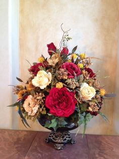 Tuscan Centerpiece - Krista's Floral Creations