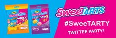 #SweeTARTY Twitter Party – Wednesday, August 24th