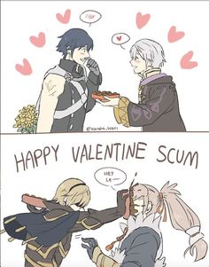 Two types of valentines