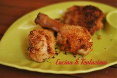 Pollo croccante al limone