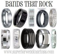 Awesome wedding bands! mens wedding bands