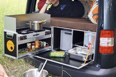 QUQUQ Cooks Up Campingbox Car Camper Conversion Kit (Video)