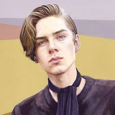 Twenty O Two by Caspian Shore Character Inspiration, Character Art, Mans World, Watercolor Portraits, Figurative Art, Cute Drawings, Art Boards, Art Reference, The Twenties