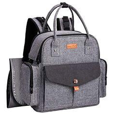 f276ffe612 HapTim Diaper Bag Backpack Multi-Function Waterproof Travel Backpack Diaper  Bag for Baby Care