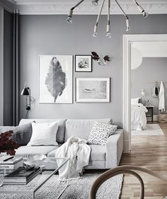 Home in grey - via Coco Lapine Design blog