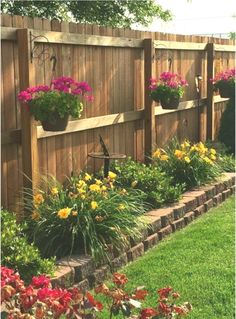 small backyard landscaping 56 inexpensive backyard ideas and designs to enhance your outdoor space 41 Small Front Yard Landscaping, Small Backyard Gardens, Backyard Patio Designs, Home Landscaping, Backyard Fences, Backyard Projects, Landscaping Small Backyards, Fenced In Backyard Ideas, Front Yard Landscape Design