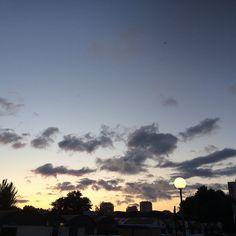 Sous le ciel d#Alfortville :)