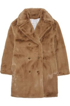 Golden Goose Deluxe Brand | Kate oversized faux fur coat | NET-A-PORTER.COM