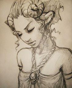 satyr sketch by DanielaUhlig