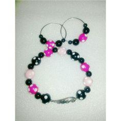 Angelic Polka dot jewelry set