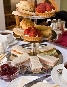 Afternoon tea at The Borrowdale Hotel, Keswick, Cumbria | Linda ...