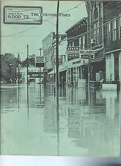 Disaster Agnes Flood of 1972 Pennsylvania Philadelphia Towanda Athens Lot of 3 | eBay