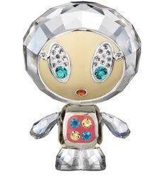 Swarovski Crystal Figurines | Swarovski Crystal Figurine #1143471, Erika Crystal Moonlight