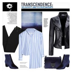"""""""Transcendence"""" by snowbell ❤ liked on Polyvore featuring WithChic, Yves Saint Laurent, Vetements, Jimmy Choo and Steven by Steve Madden"""