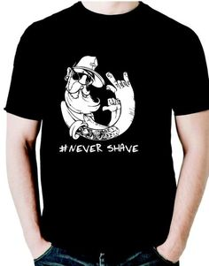 Camiseta Never Shave True Beard, evertee, sorocaba, vendas, online, old…