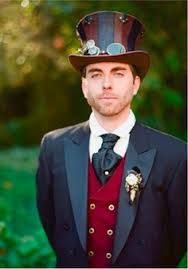 groomsmen inspiration mad hatter AW theme
