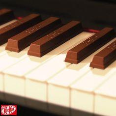 鍵盤がキットカットに?!/KitKat(ネスレ日本)