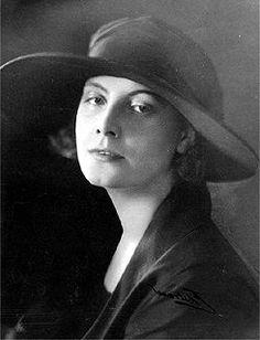 Greta Garbo, 1923, in her native Sweden