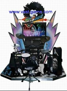 We are providing coin operated jazz drum music game machine for your kids. This arcade electric music game machine has songs includes English, Chinese, Korean & Japanese songs. To know more or to buy this machine, please visit our website. Video Game Machines, Arcade Game Machines, Arcade Games, Japanese Song, Electric Music, Drum Music, Music Machine, Music Games, Drums