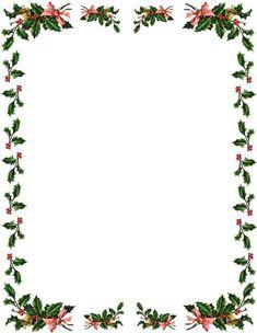 Free Christmas Clipart Borders 2013