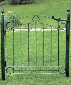 Wrought Iron Fence Gate.