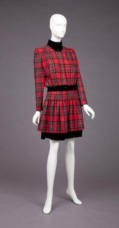 Dress  Valentino, 1989  The Goldstein Museum of Design