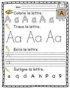 1000 images about lettres calligraphie et alphabet on - Alphabet francais maternelle ...