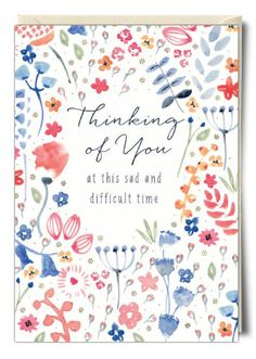 Thinking of you... - Card by Rebecca Prinn