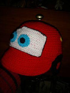Gorro Cars crochet