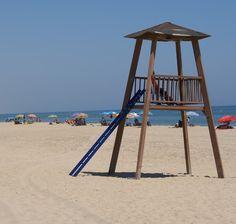 Playa del Hoyo en Isla Cristina (Huelva)