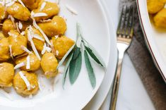 Fluffy Pumpkin Gnocchi with Smoked Ricotta: a classic dish from the Friuli Venezia Giulia region, Italy | Very EATalian