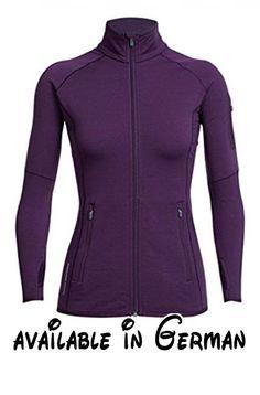 Icebreaker 200 Atom Zip Jacket Women - Fleecejacke. jacke. jacken. fleece. fleecejacke. fleecejacken #Sports #OUTDOOR_RECREATION_PRODUCT