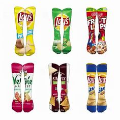Bamboo fiber Pacman socks.Game socks.PAC-MAN maze socks.