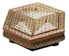 Иранская инкрустация «хатам»: потрясающее искусство древних персов.