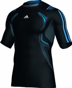 adidas Techfit PowerWeb Short Sleeve Compression Running T-Shirt Sport Shirt Design, Sports Jersey Design, Shirt Print Design, Sport T Shirt, Athletic Outfits, Sport Outfits, Cycling Suit, Mens Workout Shirts, Mens Fashion Wear