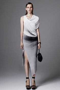Helmut Lang Resort 2012 Fashion Show - Marique Schimmel