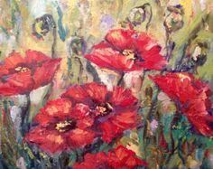 Óleo original de flores de narcisos  Pintura se hace en panel de lienzo  6 x 4  Se inscribe en el marco de tamaño estándar  Firmado por mi en la parte delantera  Se trata de una pintura original, no una impresión