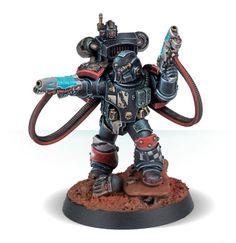Legion Moritat with Plasma Pistols