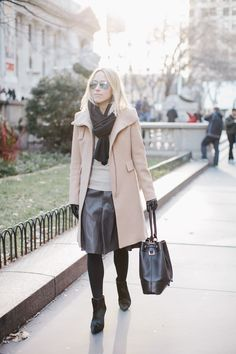 Perfect late Autumn look!