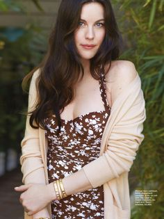 "I want to go on crazy, wild adventures"" - Liv Tyler, photographed by Matt Jones for C Magazine "" Arwen. Steven Tyler, Liv Tyler Hair, Mia Tyler, Bebe Buell, Arwen, Poses, Celebs, Celebrities, Belle"