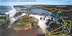 Garganta del Diablo in Puerto Iguazú, Misiones